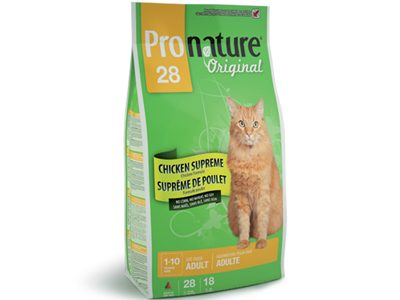 pronature chat supreme de poulet