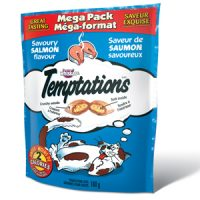 temptations chat saumon
